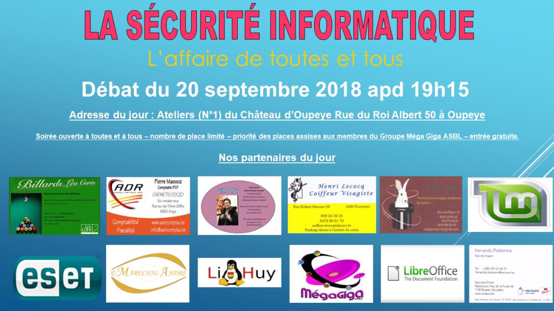Sécurité Informatique SEPTEMBRE 2018